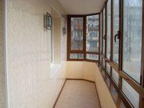 Отделка балкона в Кемерове. Отделка лоджии